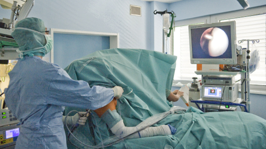 Arthroskopische Operation